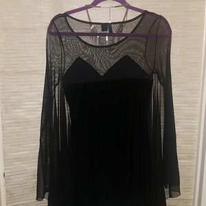 H&M Dresses - H&M Limited Edition Bat Wing/Cap Dress 🧛🏻♀️🖤